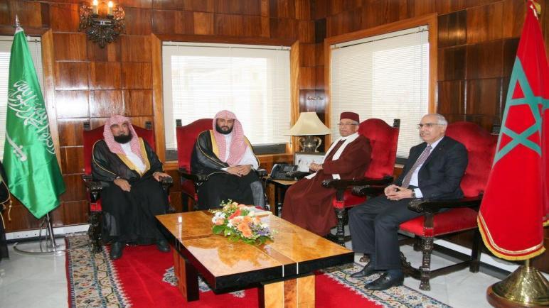 الرئيس الأول لمحكمة النقض يستقبل وفدا قضائيا من المملكة العربية السعودية