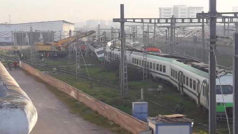 عاجل…قطار يخرج عن سكته بالدار البيضاء
