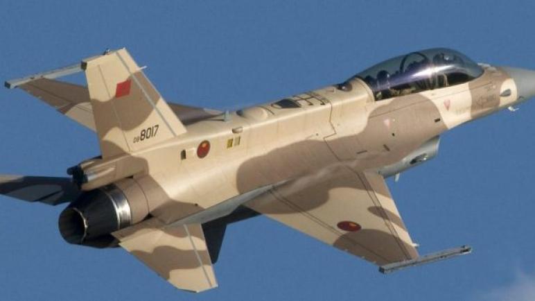 تحطم طائرة عسكرية مغربية نواحي تاونات