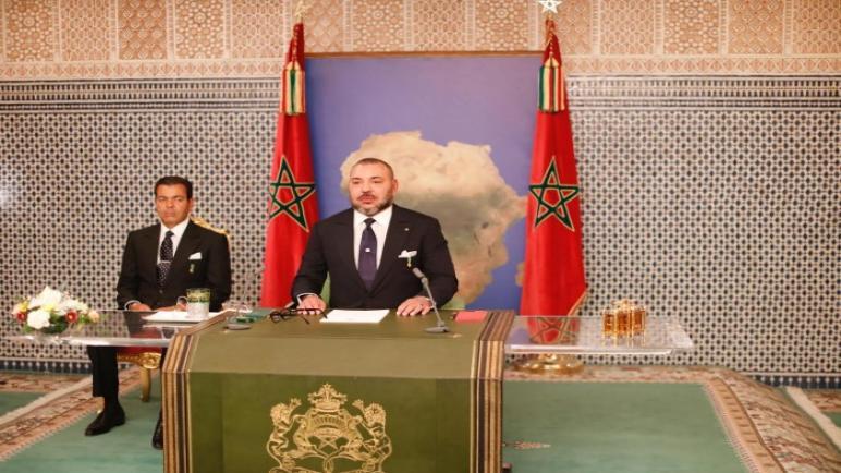 الخطاب الملكي بمناسبة المسيرة الخضراء من دكار السنغالية
