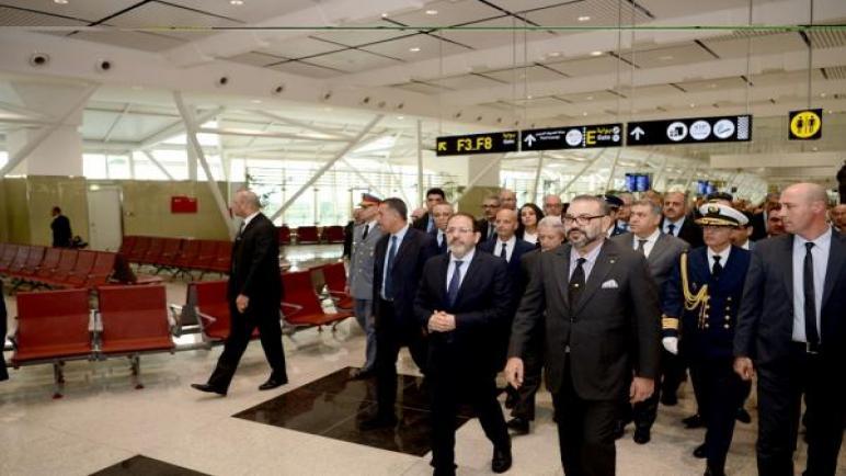 جلالة الملك يدشن المحطة الجوية 1 لمطار محمد الخامس