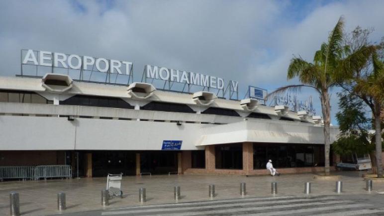 توقيف مواطن نيجيري بمطار محمد الخامس في محاولة تهريب كمية من مخدر الكوكايين