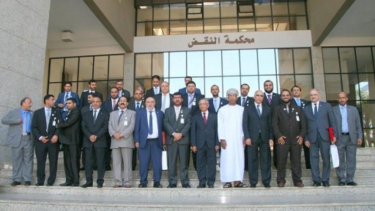زيارة وفد من المحامين من سلطنة عمان لمحكمة النقض