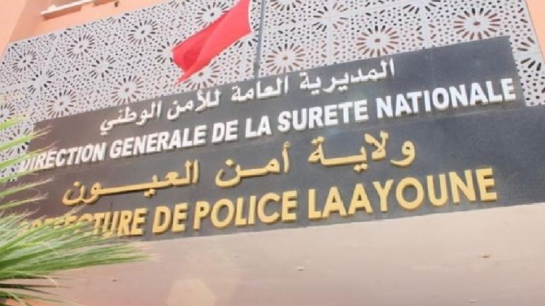 العيون… رصاصة تمكن من توقيف جانح عرض عناصر الشرطة لإعتداء