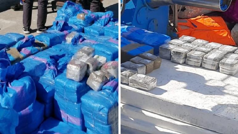حجز طن و150 كيلوغرام من مخدر الشيرا مخبأة داخل مركب للصيد الساحلي بميناء الصيد البحري بطنجة