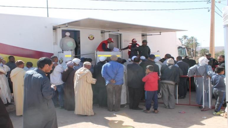 قافلة طبية متعددة التخصصات تقدم خدماتها لمدة ثلاثة أيام بإقليم زاكورة
