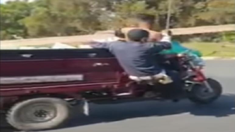 """توقيف 3 أشخاص لتورطهم في عدم الامتثال والتسبب في حادثة سير عمدية بواسطة """"تريبورتور"""""""