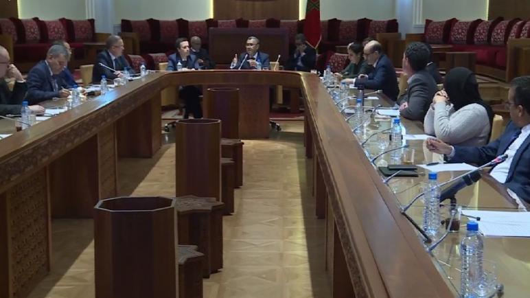 """لجنة المالية والتنمية الاقتصادية تعقد اجتماعا بخصوص مشروع مرسوم بإحداث حساب للصندوق الخاص بتدبير جائحة فيروس """"كورونا"""""""