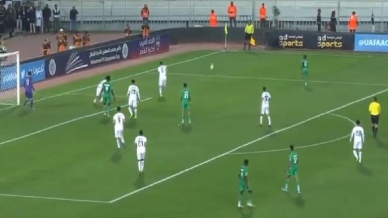 الرجاء ينهزم أمام مولودية الجزائر ويتأهل إلى نصف نهائي كأس محمد السادس