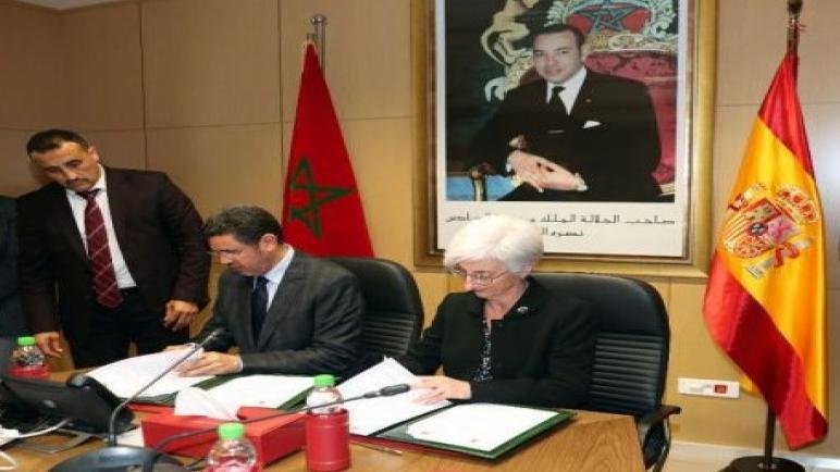رئيس النيابة العامة يوقع مذكرة تعاون قضائي مع المدعية العامة بالمملكة الإسبانية