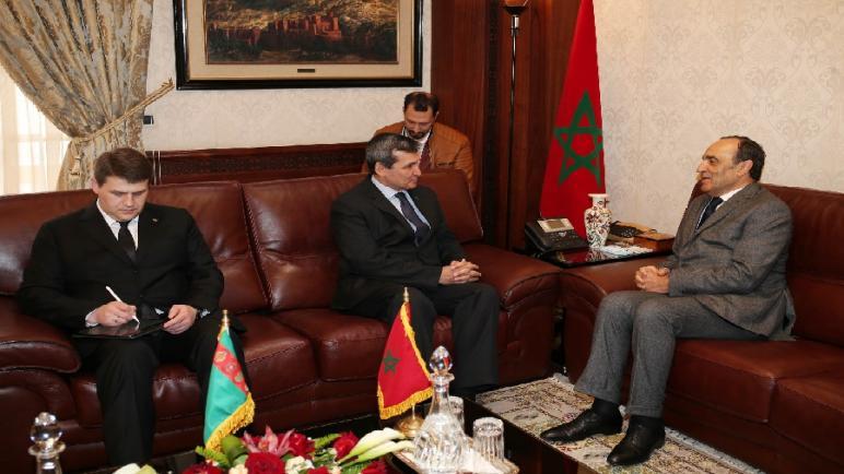 نائب رئيس مجلس الوزراء و وزير خارجية تركمنستان يؤكد أن الحل الوحيد للنزاع حول الصحراء هو مقترح الحكم الذاتي الذي تقدم به المغرب