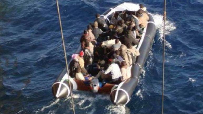 طرفاية… ضبط 40 مھاجرا سریا ینحدرون من بلدان إفریقیا جنوب الصحراء
