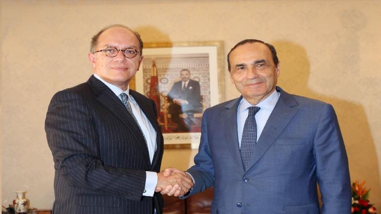 رئيس مجلس النواب الحبيب المالكي يستقبل سفير البيرو بالرباط