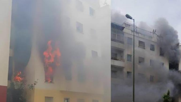 سلا…حريق يتسبب في مصرع طفل داخل شقّة سكنية بحي تابريكت