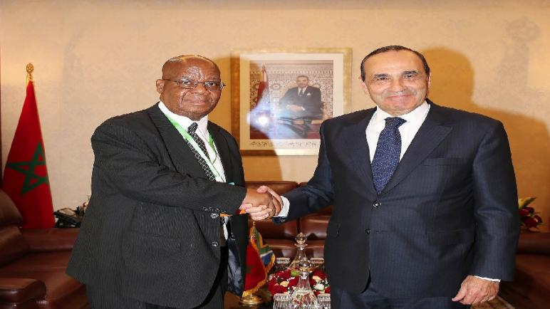 رئيس المجلس الوطني للجهات بجنوب إفريقيا يشدد على أهمية تعزيز التبادل التجاري والاقتصادي بين بلدان القارة الإفريقية