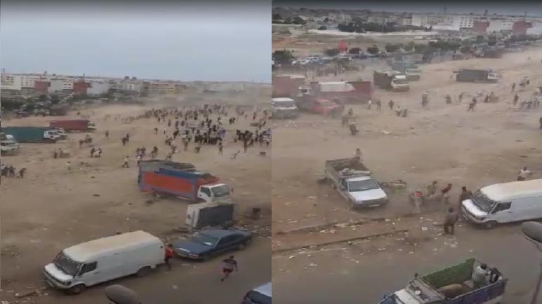 أمن الدار البيضاء يوقف 20 شخصا يشتبه تورطهم في أعمال العنف والسرقة التي شهدها سوق لبيع الأغنام بالحي الحسني