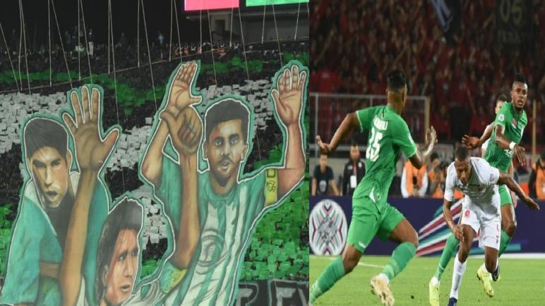 الرجاء يتأهل إلى باقي أطوار كأس محمد السادس بعد تعادله مع الوداد