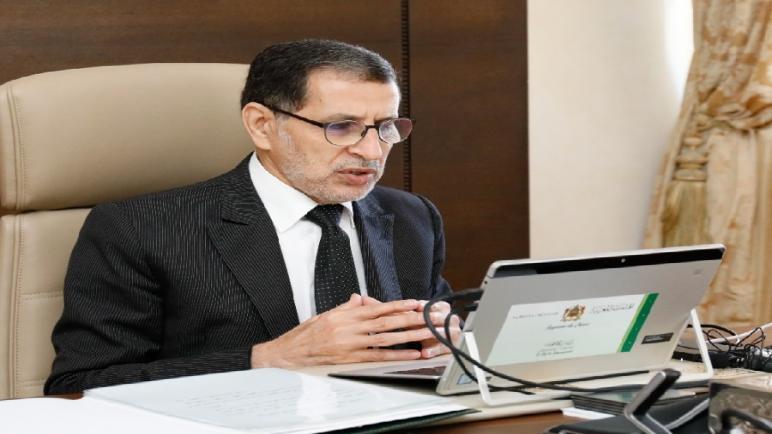 """رئيس الحكومة: المغرب أعطى نموذج بلد يعمل بسياسة استباقية واستشرافية في مواجهة أزمة """"كوفيد 19"""""""