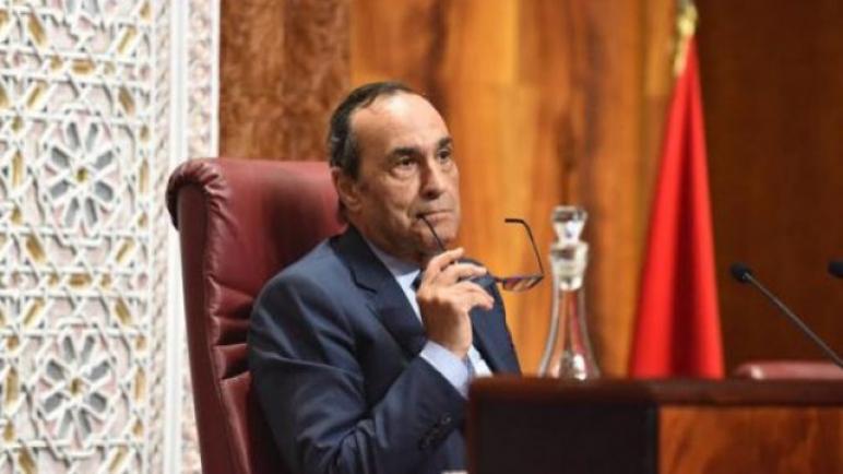 رئيس مجلس النواب يستعرض جهود المغرب في محاربة الإرهاب