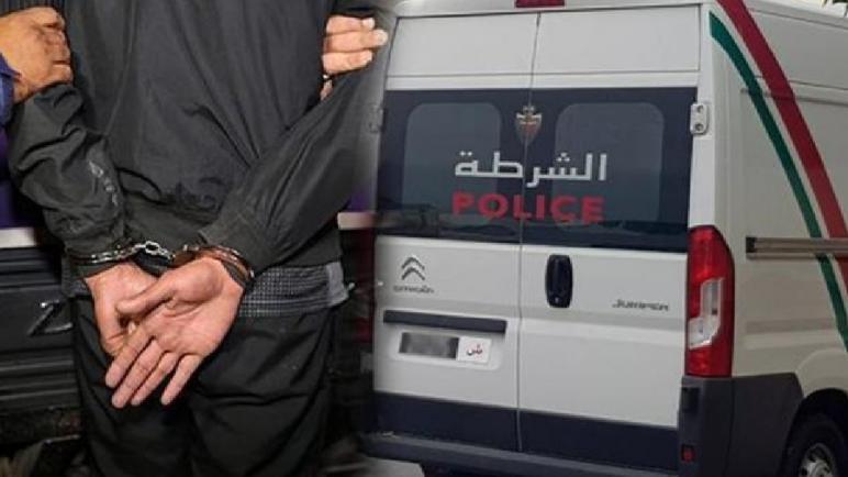 أمن القنيطرة يوقف متورطا في محاولة السرقة المقرونة بالضرب والجرح
