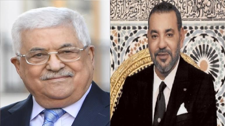 برقية تهنئة من محمود عباس إلى جلالة الملك محمد السادس