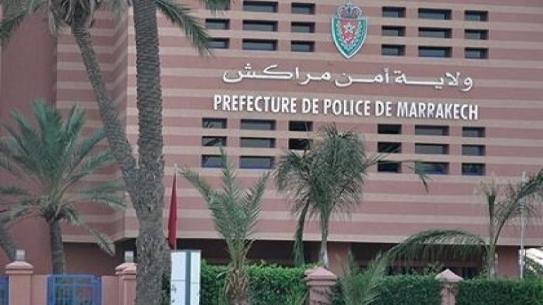 ولاية أمن مراكش تقدم الدعم النفسي لشرطي ظهر في شريط فيديو في وضعية نفسية صعبة