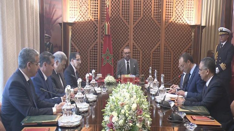 جلالة الملك محمد السادس يترأس جلسة عمل حول برنامج التزويد بالماء الشروب ومياه السقي