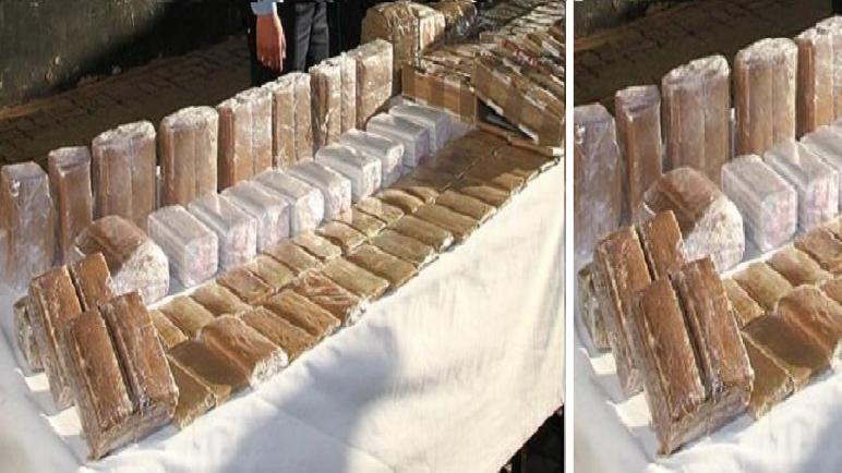 أكادير…توقيف سائق شاحنة للنقل البضائع بحوزته 589 كيلوغرام من مخدر الشيرا