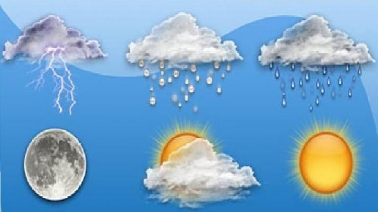 توقعات أحوال الطقس اليوم الثلاثاء… أمطار أو زخات مطرية أحيانا رعدية