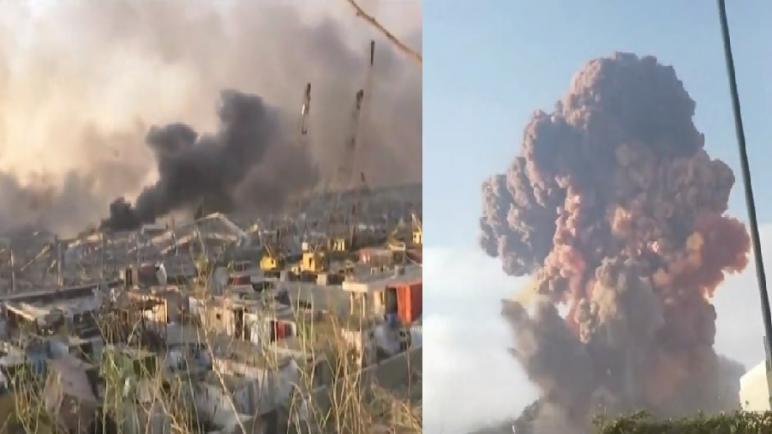 حصيلة انفجار مرفأ بيروت 135 قتيلا و 5 آلاف جريح