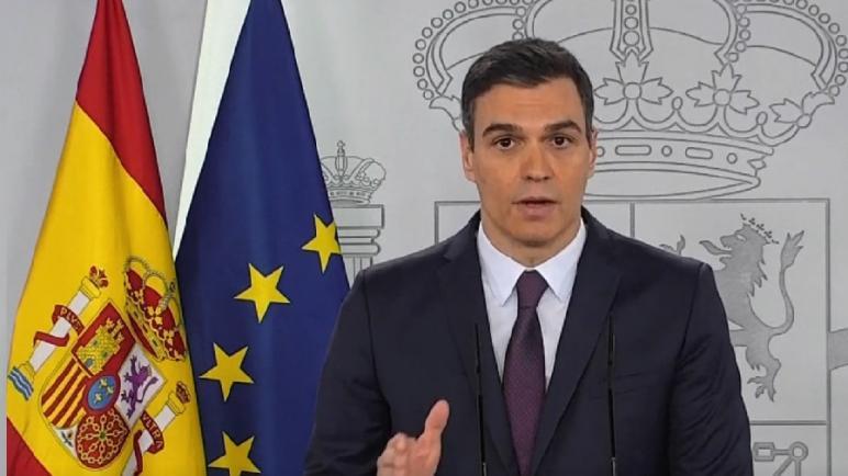 بيدرو سانشيز… الحكومة الإسبانية تعتزم تمديد حالة الطوارئ لمدة شهر إضافي