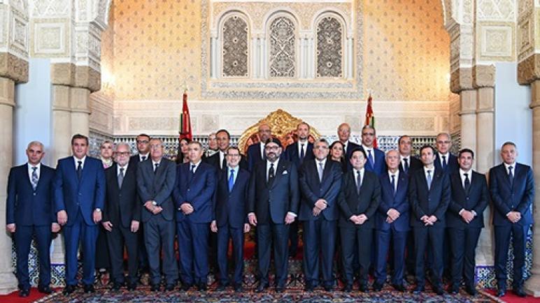 جلالة الملك يستقبل ويعين أعضاء حكومة العثماني في صيغتها الجديدة