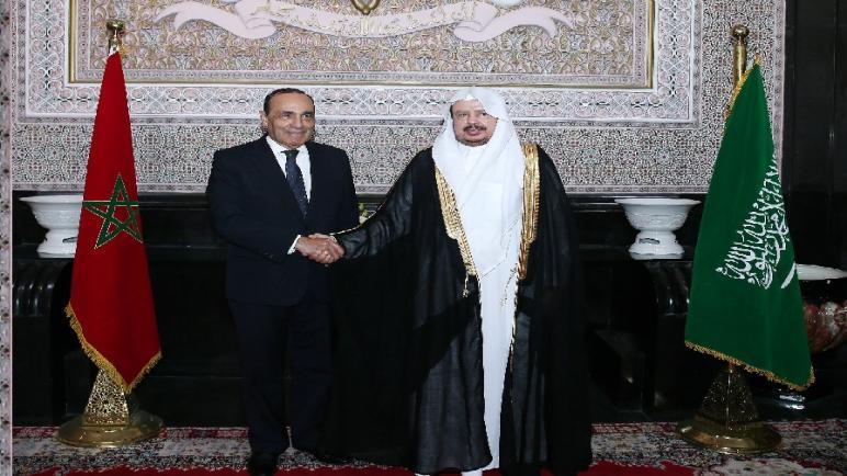 رئيس مجلس النواب يجري مباحثات مع رئيس مجلس الشورى بالمملكة العربية السعودية