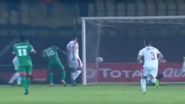 الزمالك المصري يحقق فوزا مهما على حساب ضيفه زيسكو الزامبي