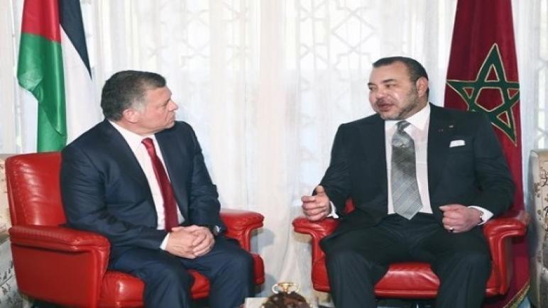 المغرب والأردن يؤكدان ضرورة إنهاء الأزمة في سوريا ويقفان إلى جانب إعمار العراق