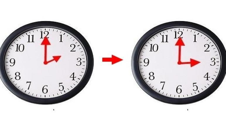 زيادة 60 دقيقة للتوقيت الحالي نهاية شهر مارس