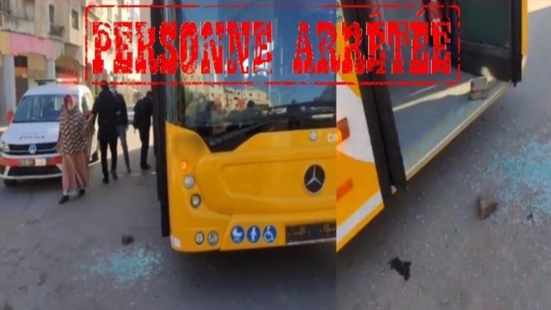 الدار البيضاء… توقيف شخص يشتبه تورطه في إلحاق خسائر مادية بحافلة للنقل العمومي بحي مولاي رشيد