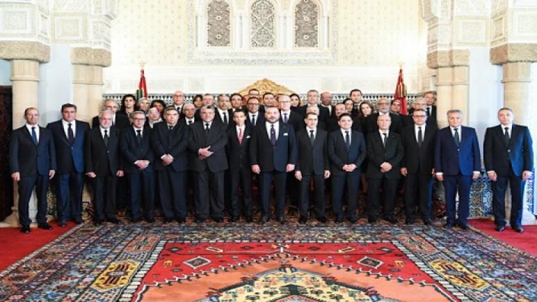 الملك محمد السادس يعين وزراء الحكومة الجدد