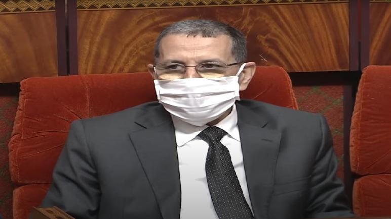 العثماني أمام مجلس المستشارين لتقديم سياسة الحكومة لما بعد رفع الحجر الصحي