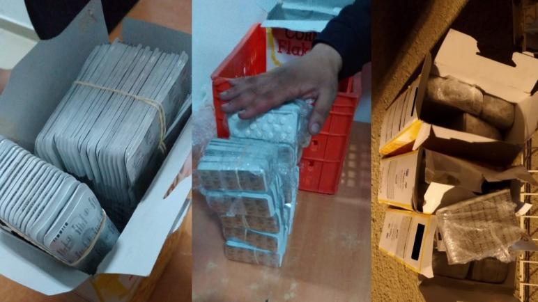 عناصر الأمن بطنجة تحجز 17 ألفا و715 قرص طبي مخدر