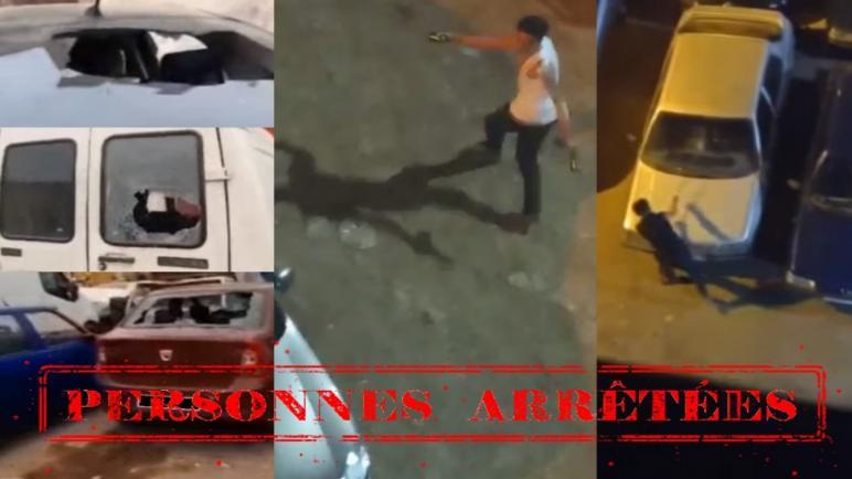 إلحاق خسائر مادية بسيارات بالشارع العام تورط شخصان بالدار البيضاء