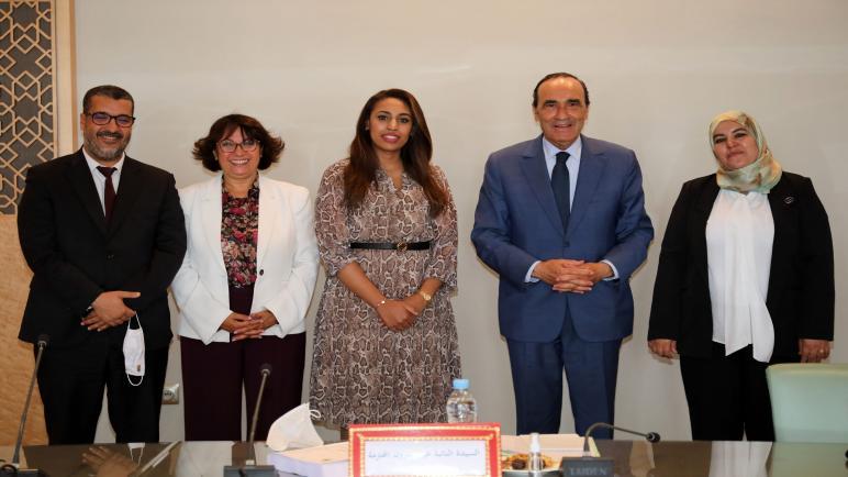 المالكي يترأس إجتماعا لمتابعة تقدم أشغال مجموعة العمل الموضوعاتية
