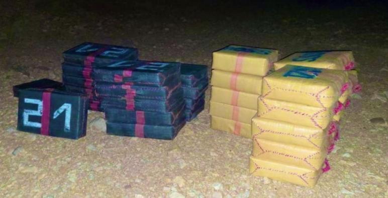 الرشيدية.. توقيف 4 متورطين في حيازة طن و48 كيلوغراما من مخدر الشيرا