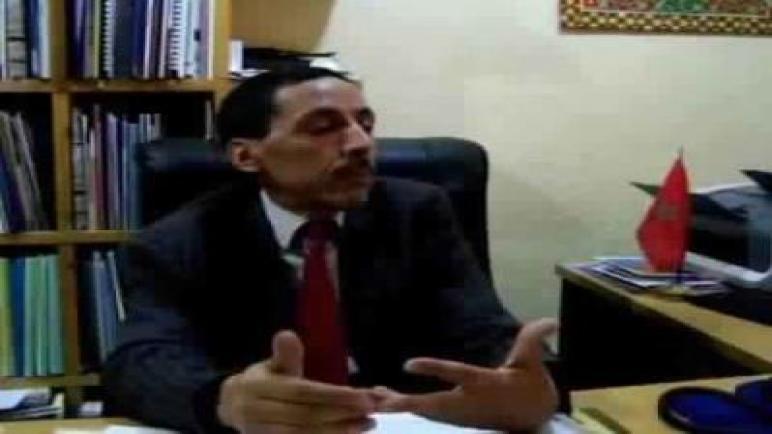 لقاء مع السيد محمد الأغظف الشيخ ماء العينين مندوب وزارة السياحة بورزازات
