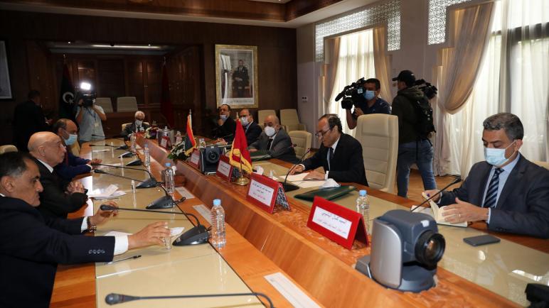 المالكي يجري مباحثات مع رئيس مجلس النواب الليبي