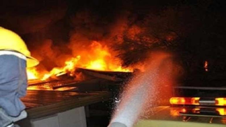 حريق بالقرب من سوق شعبي بمدينة سطات