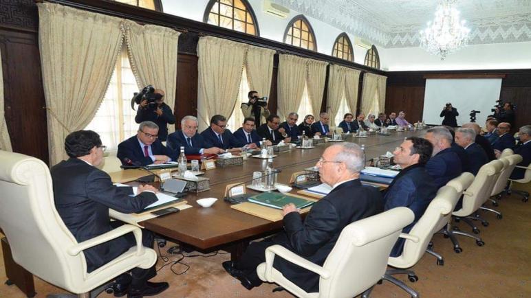 اجتماع استثنائي للمجلس الحكومي غدا الثلاثاء