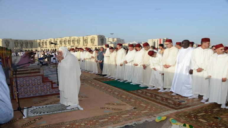 صلاة عيد الأضحى-عمالة مقاطعات الدار البيضاء أنفا
