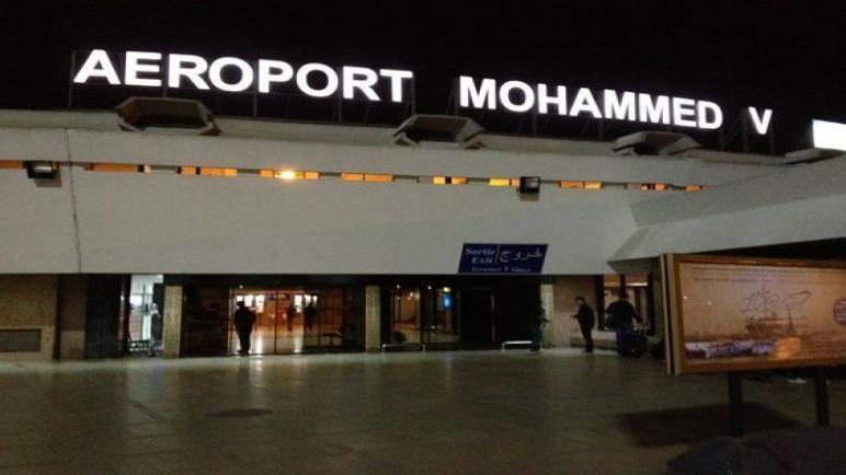 مصالح الأمن بمطار محمد الخامس توقف ثلاثة مواطنين تونسيين للاشتباه في تورطهم في تهريب المخدرات