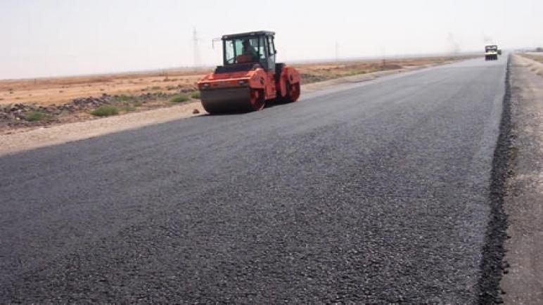 الطريق الجهوية رقم 316 الرابطة بين أولاد سعيد و وبولعوان في طور الإصلاح